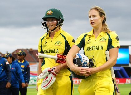 Sophie Molineux called into Australia Women's Ashes squad