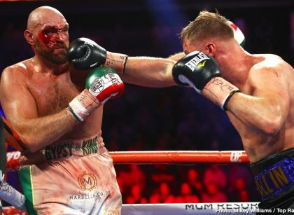 Tyson Fury's cut needed 47 stitches to close