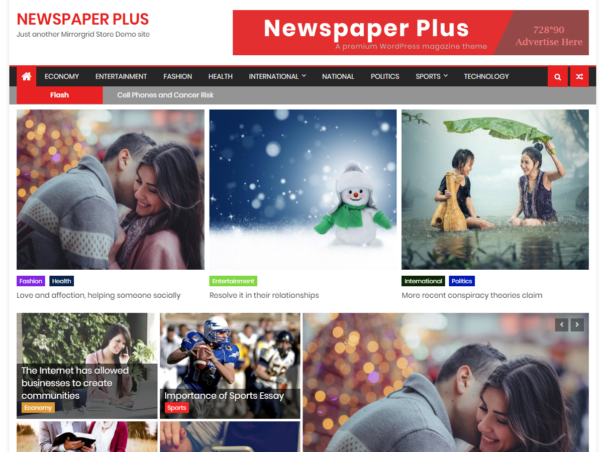 Newspaper Plus - Premium WordPress Theme